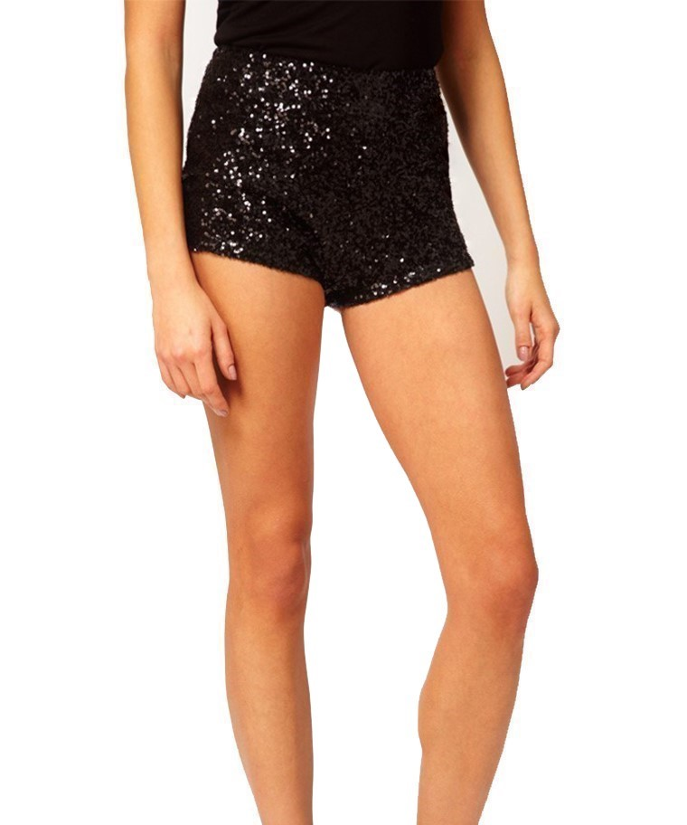 SHORTS IN PAILLETTES